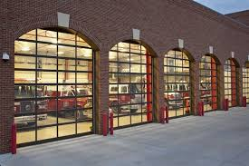 Commercial glass garage doors Overhead Armrlite Commercial Projects Rely On Garage Doors From Haas Door