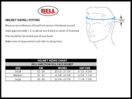 Bell Full Face Helmet Size Chart Bell Sanction Full Face Helmet Mountain Bike Bmx Dirt Jumps 15 Vents Adj Visor