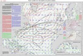 January North Atlantic Pilot Chart Southwinds Magazine