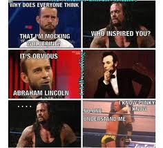 Wwe Funny Pictures on Pinterest | Wwe Funny, Wrestling Memes and ... via Relatably.com