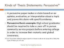 bellwork thesis statement write your thesis statement for your  6 kinds