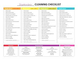hotel housekeeping checklist template unique maintenance daily