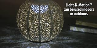 Light N Motion New Creative Light N Motion Bronze Floral Solar Powered