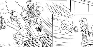 Lego Marvel Superheroes Coloring Pages Avengers 2 Chronicles Network