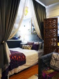 cozy furniture brooklyn. Natashau0027s WellTraveled Brooklyn Studio Apartment Cozy Furniture