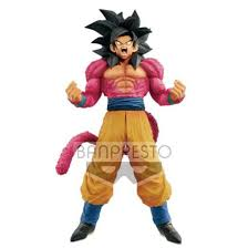 Banpresto Smsp Master Stars Piece Ssj4 Son Goku The Brush