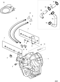 Transmission and related parts for mercruiser mie cummins