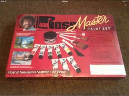 bob ross master paint set new sealed