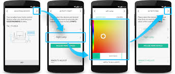 Philips hue compatible color bulbs Amazon Harmony App Good Morning Activity With Philips Hue Screen Harmony Support Logitech Harmony Harmony And Philips Hue