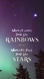 When it Rains Look for Rainbows Phone ...