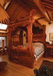 Fine Unique Canopy Bed Inside Design Decorating
