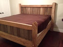 Reclaimed Wood Bedroom Furniture Contemporary – Loccie Better Homes ...