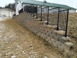 commercial retaining wall commercial retaining wall