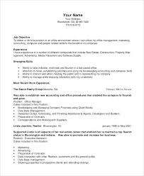 Construction Office Manager Resume – Foodcity.me