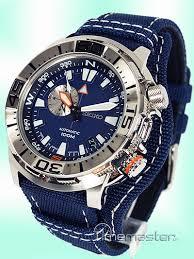 seiko mens divers royal blue face nylon leather compass men s seiko superior sports diver s 100m automatic blue face model ssa053j1