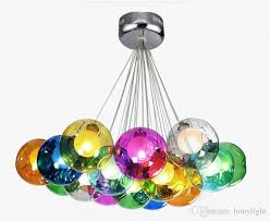 colorful pendant lights new trippy colorful glass chandelier modern hand blown glass bubble