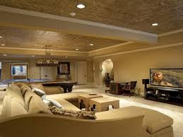 image of amazing basement lighting led