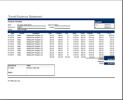 Travel And Expenses Ms Excel Travel Expense Report Template Word Excel Templates