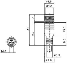 cs b1 01 g 05 konektors 3poli m8 5m pelēks lasma e warehouse cable length 5 m manufacturer datalogic number of wires 3 pin 3 poli size m8 status led n a th type female type straight