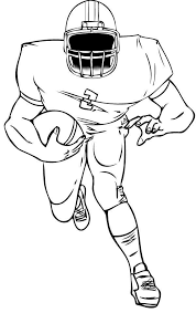 Small Picture American Football Coloring Page sewing Pinterest American