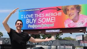 fanjoy logan paul. visiting jake paul\u0027s house and logan billboard *not clickbait* fanjoy paul