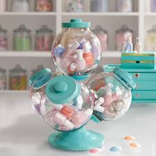 Decorated Candy Jars