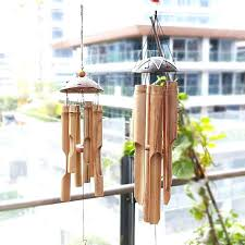 large bamboo wind bell chimes outdoor turtle chime for yoga wooden diy bamboo wind chime chimes diy giant