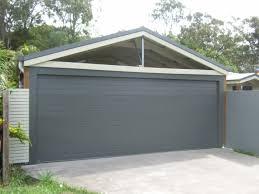 modest double car garage door replacement cost intended carports