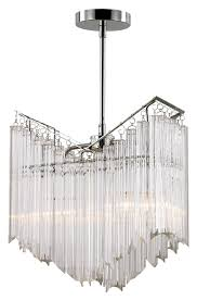 trans globe hp 2 pc small 2 lamp polished chrome crystal chandelier lighting loading zoom