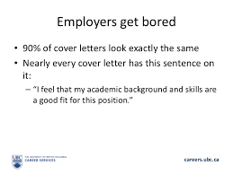 Cover Letter Sample Ubc Corptaxco Com