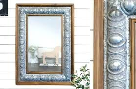 distressed wall mirror distressed wall mirror galvanized metal wall mirror farmhouse inspired distressed ivory wall mirror distressed wall
