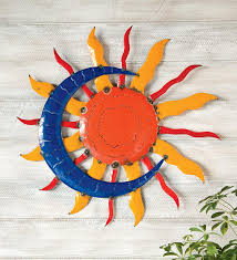 >colors metal talavera sun moon and star wall art together with  metal talavera sun moon and star wall art together with talavera painted metal sun and moon wall art in conjunction with aztec sun and moon wall art