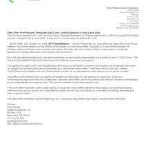 Formatting A Cover Letter For A Resume Cover Letter Sample For