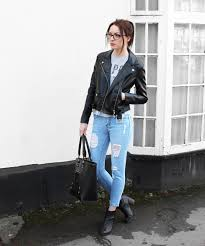 leather jacket jeans 02