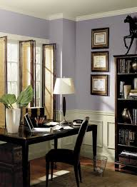 home office wall color ideas photo. Purple Home Office Ideas Fresh Airy Paint Wall Color Photo