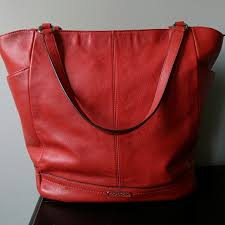 Coach PARK LEATHER NORTH SOUTH TOTE