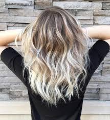 Vanilla Blonde Balayage Color Melt For
