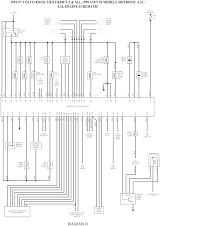 wiring diagram volvo v wiring wiring diagrams