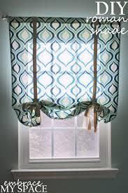 Roman Blind Diy How To Make A Roman Shade Faux Roman Shade Valance Custom Window
