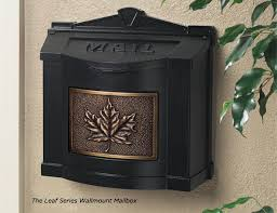 gaines manufacturing eagle series wallmount mailboxes gaines manufacturing leaf series wallmount mailboxes