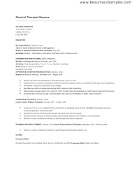 Cover Letter For Physical Therapy Best Solutions Of Sample Physical