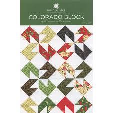 Colorado Block Quilt Pattern by MSQC SKU: PAT1056 | Missouri Star ... & Colorado Block Quilt ... Adamdwight.com