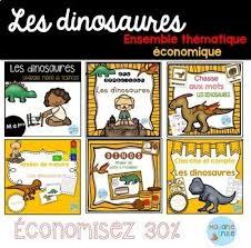 Flippy fait une drôle de farce aux enfants : Dinosaurs French Worksheets Teaching Resources Tpt