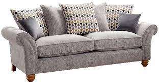 lebus vegas 3 seater fabric sofa cfs