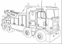 Small Picture Unbelievable fire truck coloring pages printables with fire truck