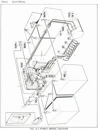 Wiring diagram ezgo txt light new ez go golf cart