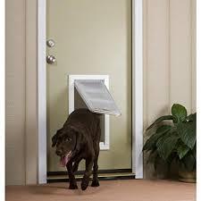 patio pacific endura flap large door mount double flap 10 x 18 pet door