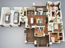3 bedroom house plans with basement