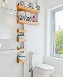 bathroom decorating ideas on a budget. Unique Decorating Use All Nooks For Shelving  15 Small Bathroom Decorating Ideas On A  Budget On A