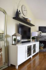 Tv Wall Decoration For Living Room 25 Best Ideas About Shelf Above Tv On Pinterest 4 Tv Live Tvs